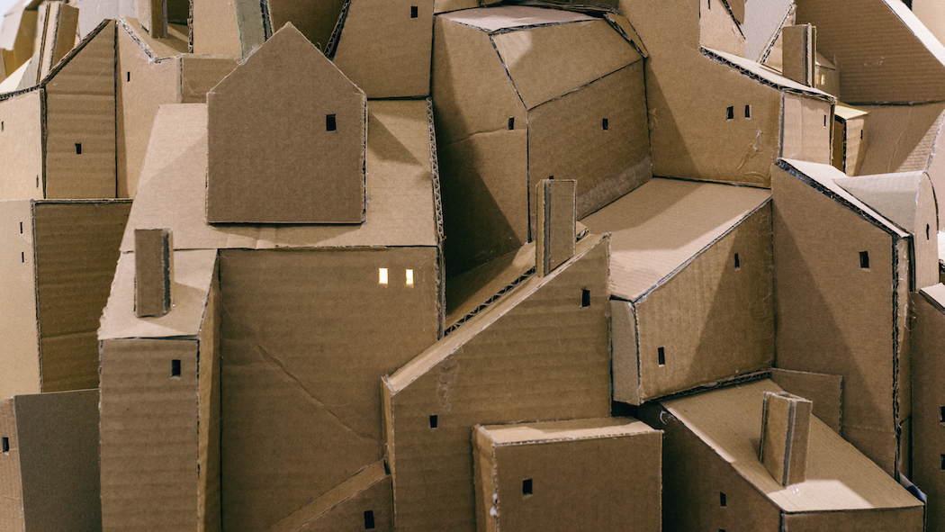 nina lindgren floating city cardboard 3