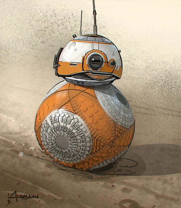 ILM Force Awakens Concept Art 1
