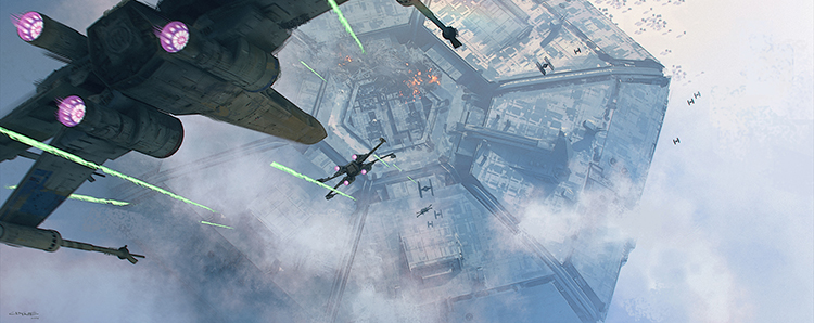 ILM Force Awakens Concept Art 3