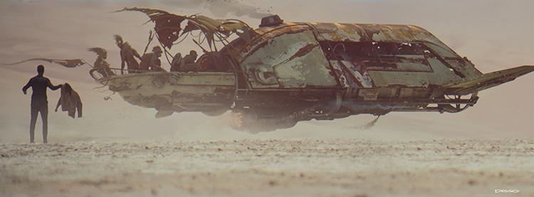 ILM Force Awakens Concept Art 4