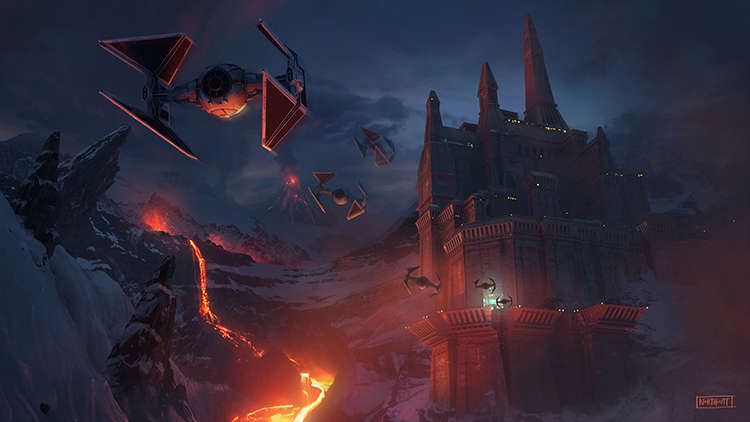 ILM Force Awakens Concept Art 8