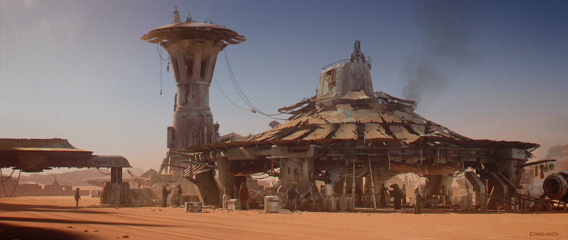 Newly Released Concept Art for Star Wars: The Force Awakens
