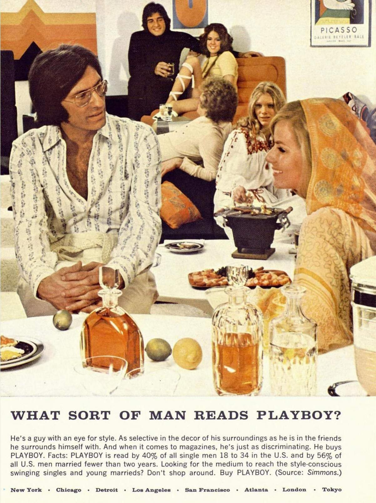 What sort of man reads Playboy 4