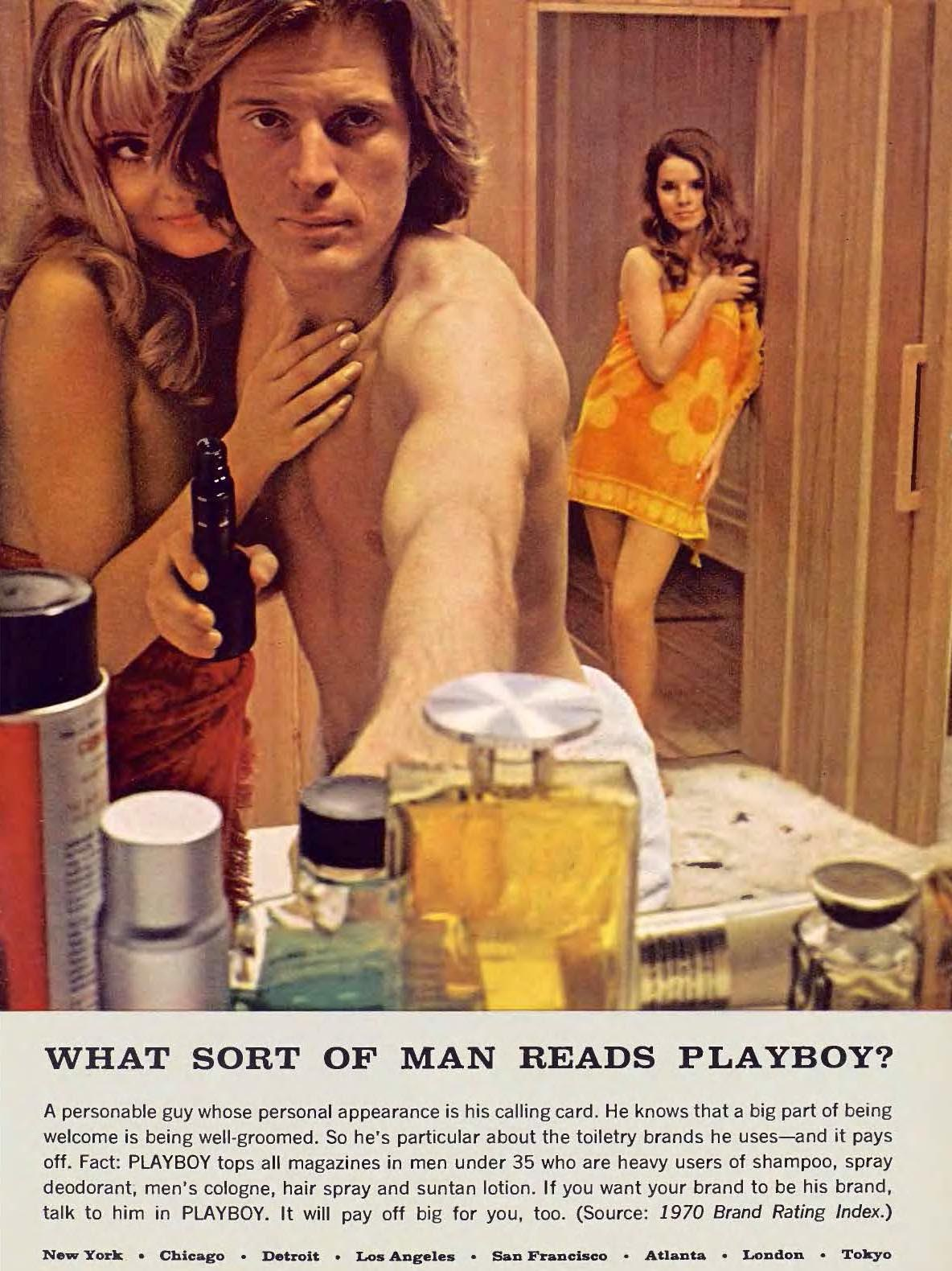What sort of man reads Playboy 07 July 1971