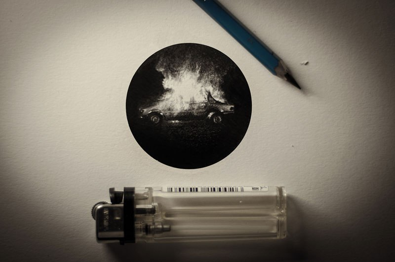 Miniature Pencil Drawings by Mateo Pizarro