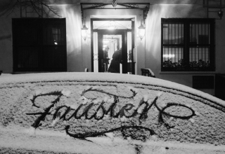 Snow Calligraphy by Faust