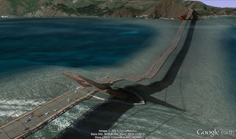 Google Earth Golden Gate