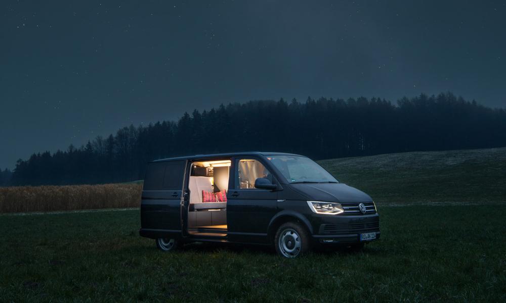 Nils Holger Moormann minimalist camper van 1