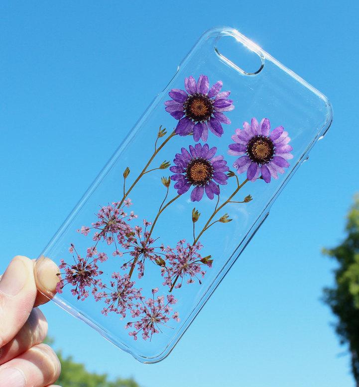 house of bling pressed flower phone case 4