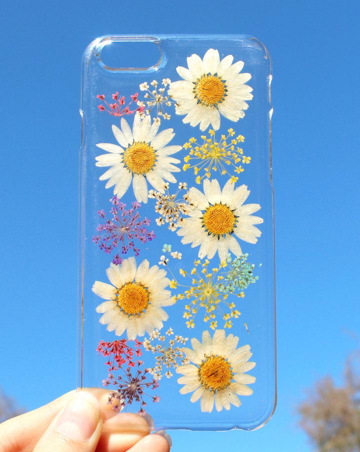 house of bling pressed flower phone case 7