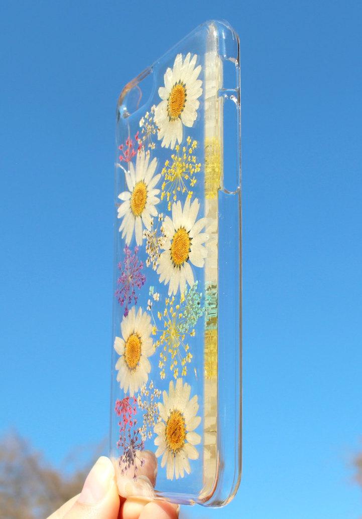 house of bling pressed flower phone case 8