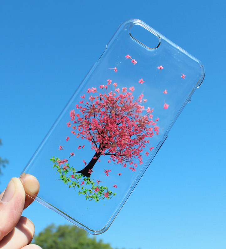 house of bling pressed flower phone case 10