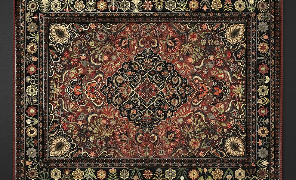 Quilling Carpet