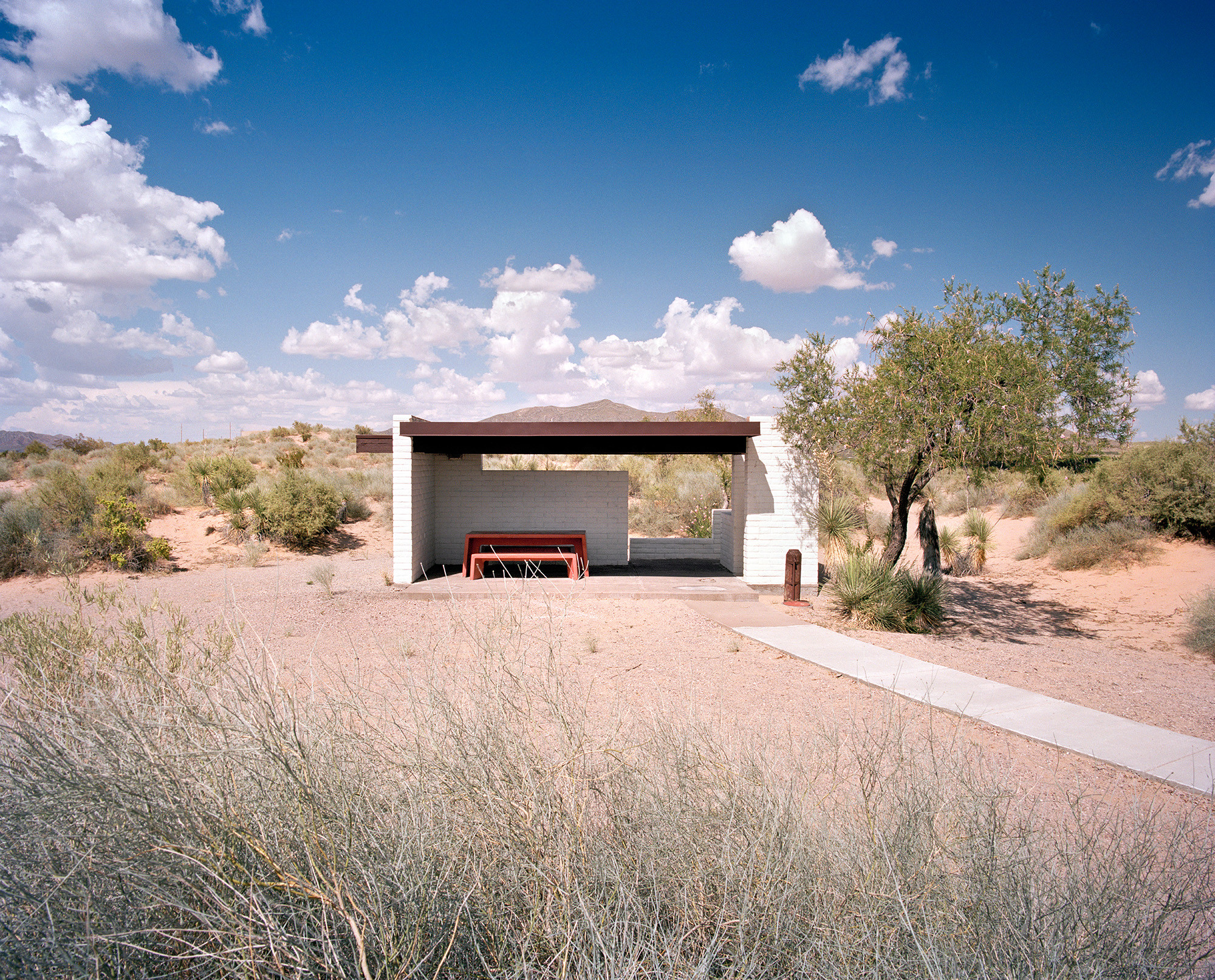 New Mexico Rest Stop