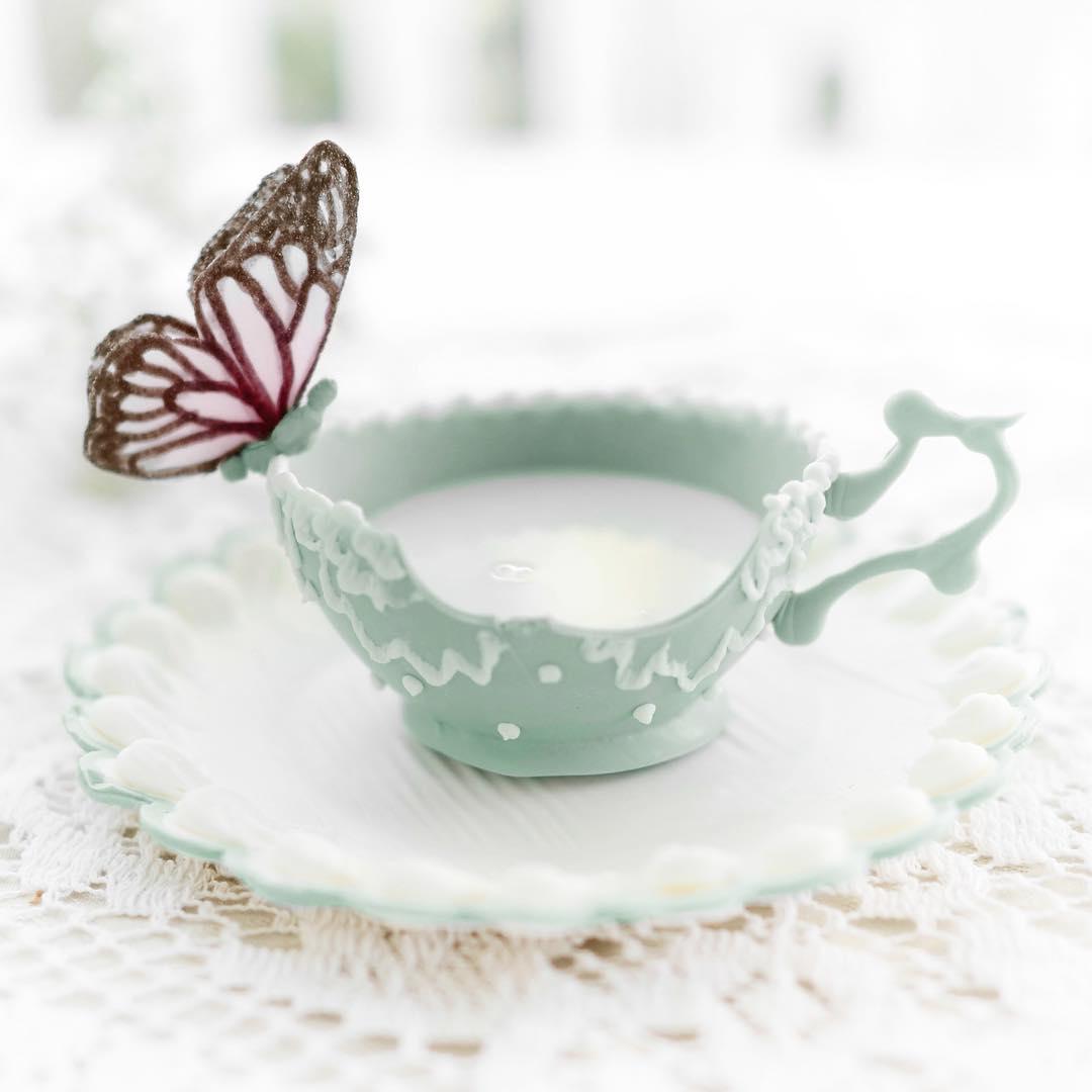 Tea Cup Deceptive Desserts