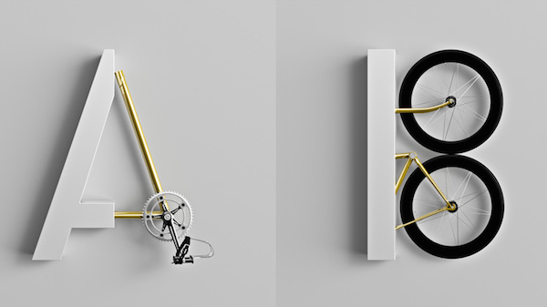 bicycle parts A B