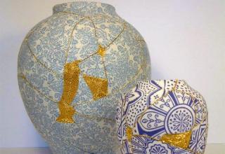 Kintsugi Vases, by Christopher Jobson