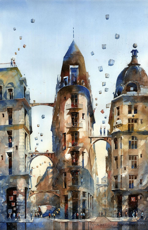 Warsaw Watercolor
