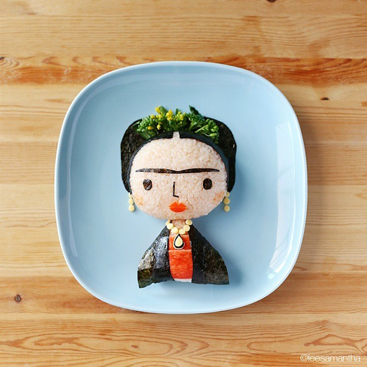 Pop Culture Food Art
