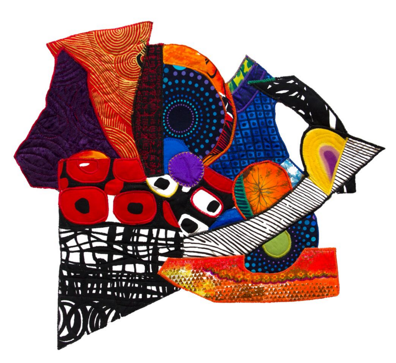 Abstract quilting art