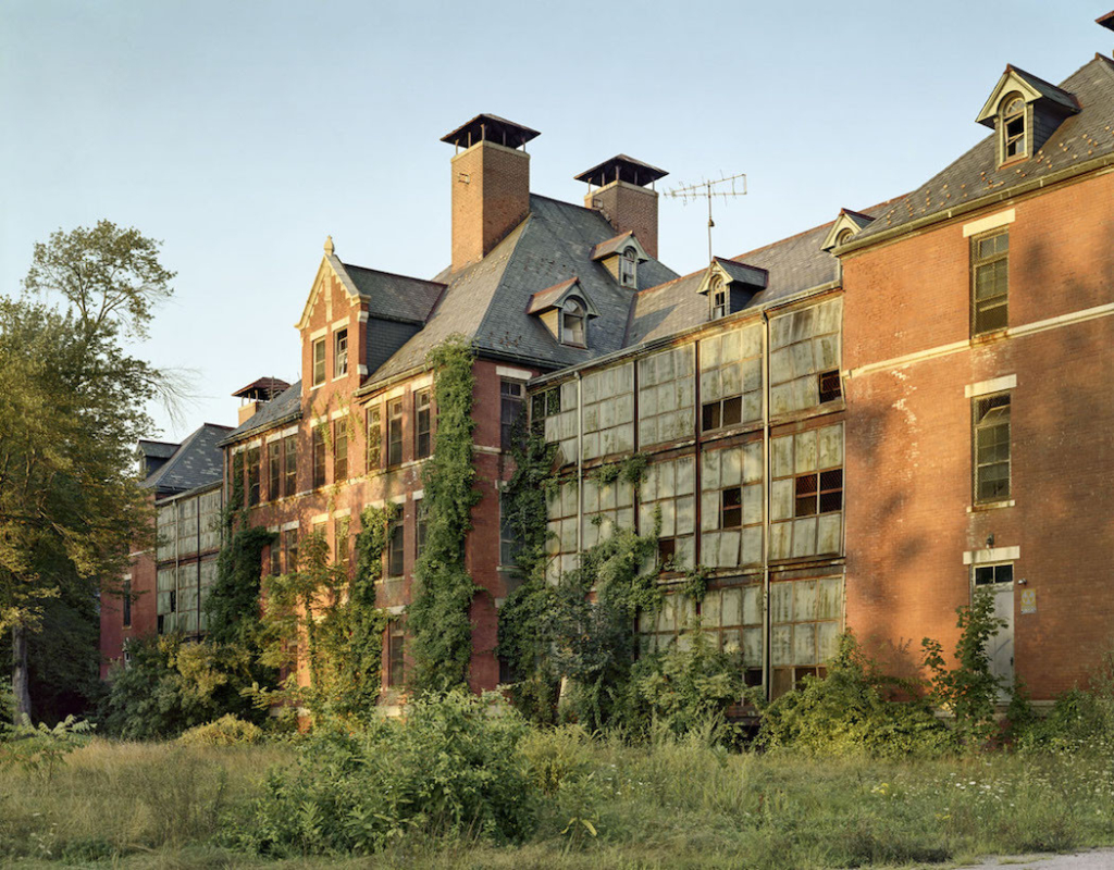 Abandoned Psychiatric Hospitals by Christopher Payne