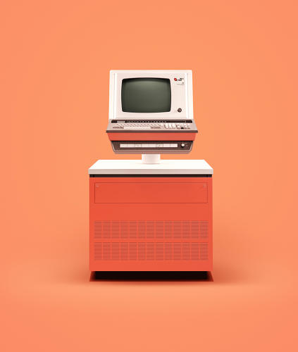 Vintage Computers, by James Ball