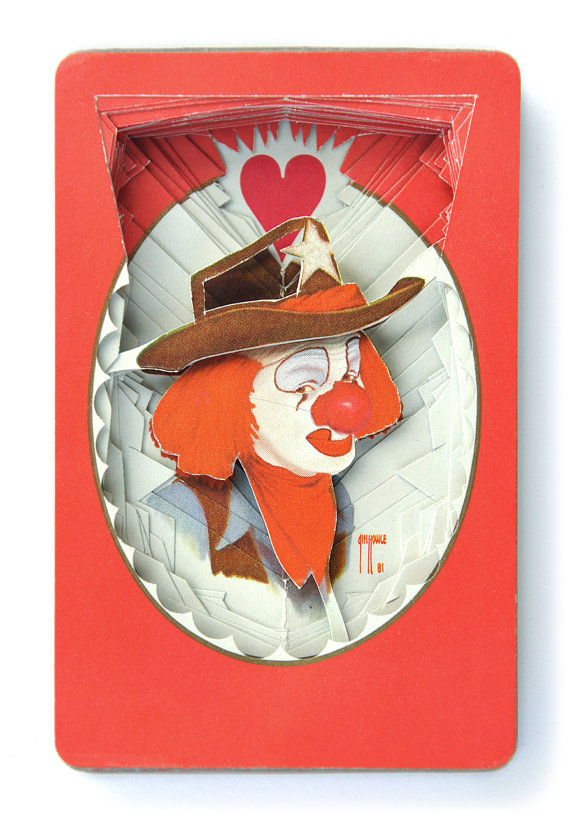 clown deck of cards