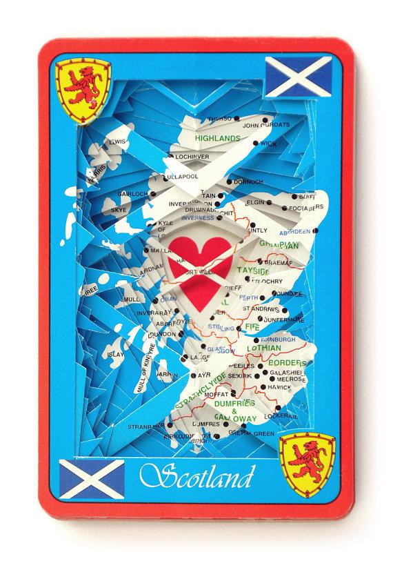 Scotland deck of cards