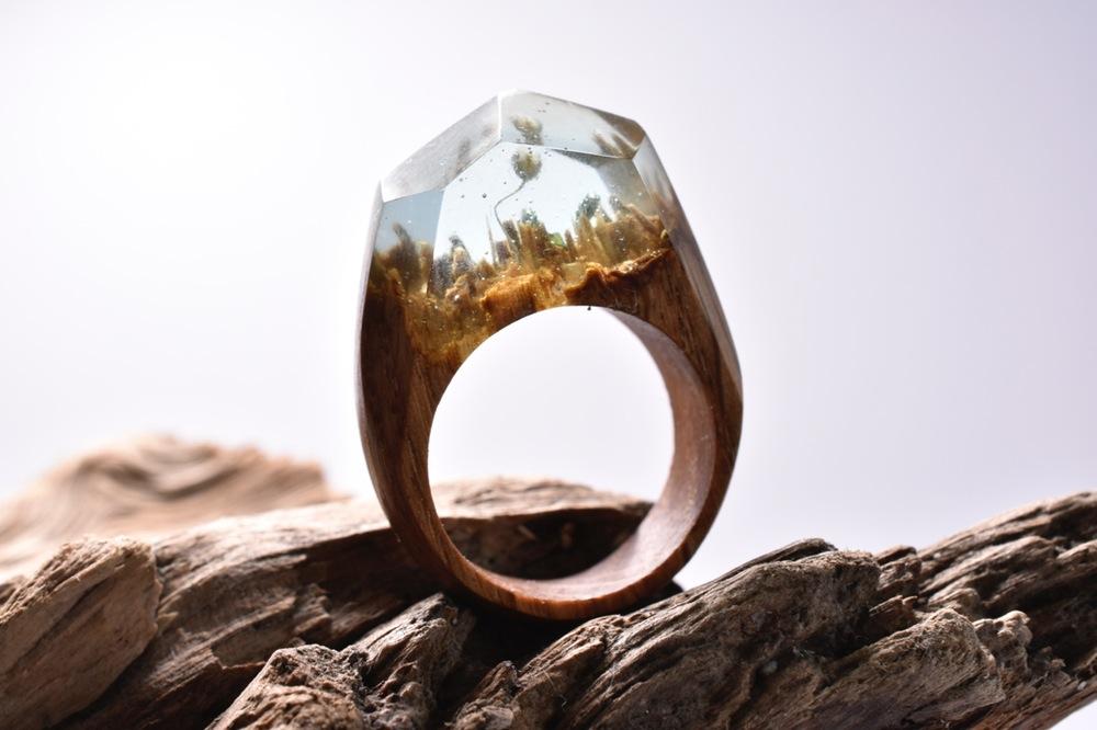 Mountain Wedding Ring 62 Nice  DSC