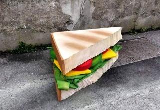 Eat Me - a mattress art project, by Lor-K