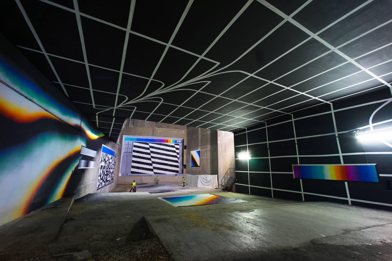 Lasco Project (Tron Paris), by Felipe Pantone