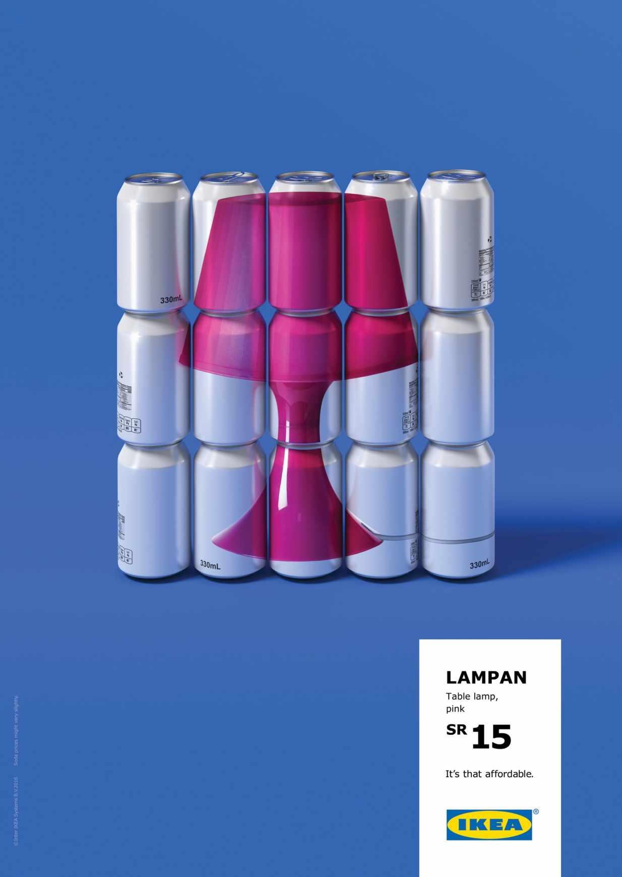 IKEA ad campaign lamp