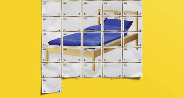 IKEA ad campaign bed