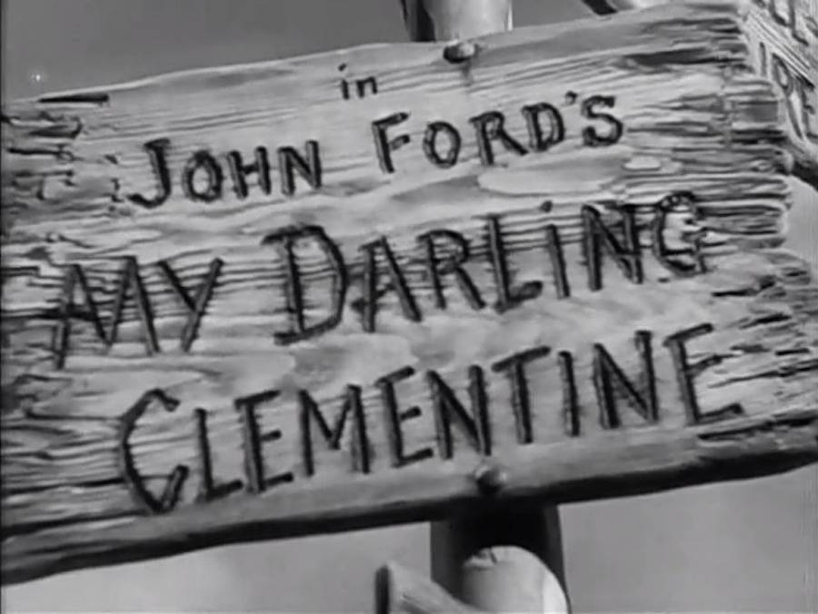 movie title design my darling clementine