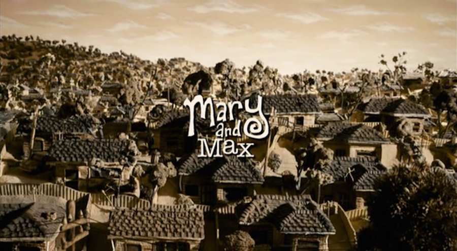 movie title deisng mary and max