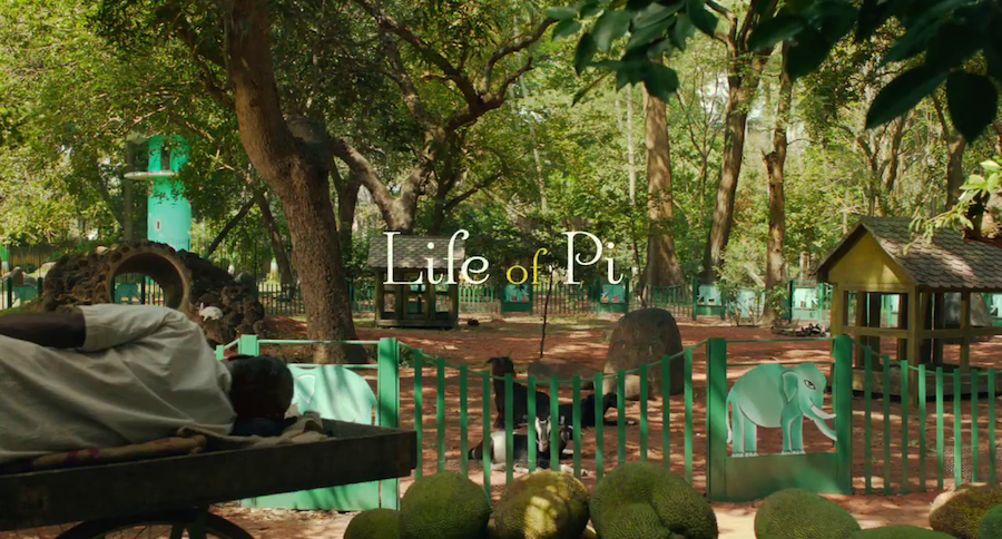 movie title design life of pi