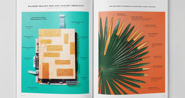 Creatve Print Data Viz (Infographics), by Atlas for Elephant Magazine