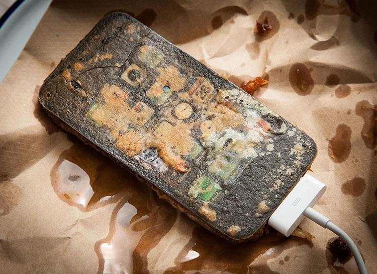 Deep Fried Electronic Gadgets