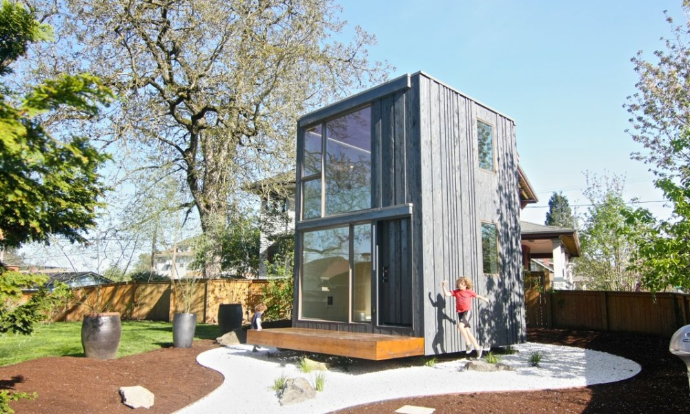 tiny house rotate