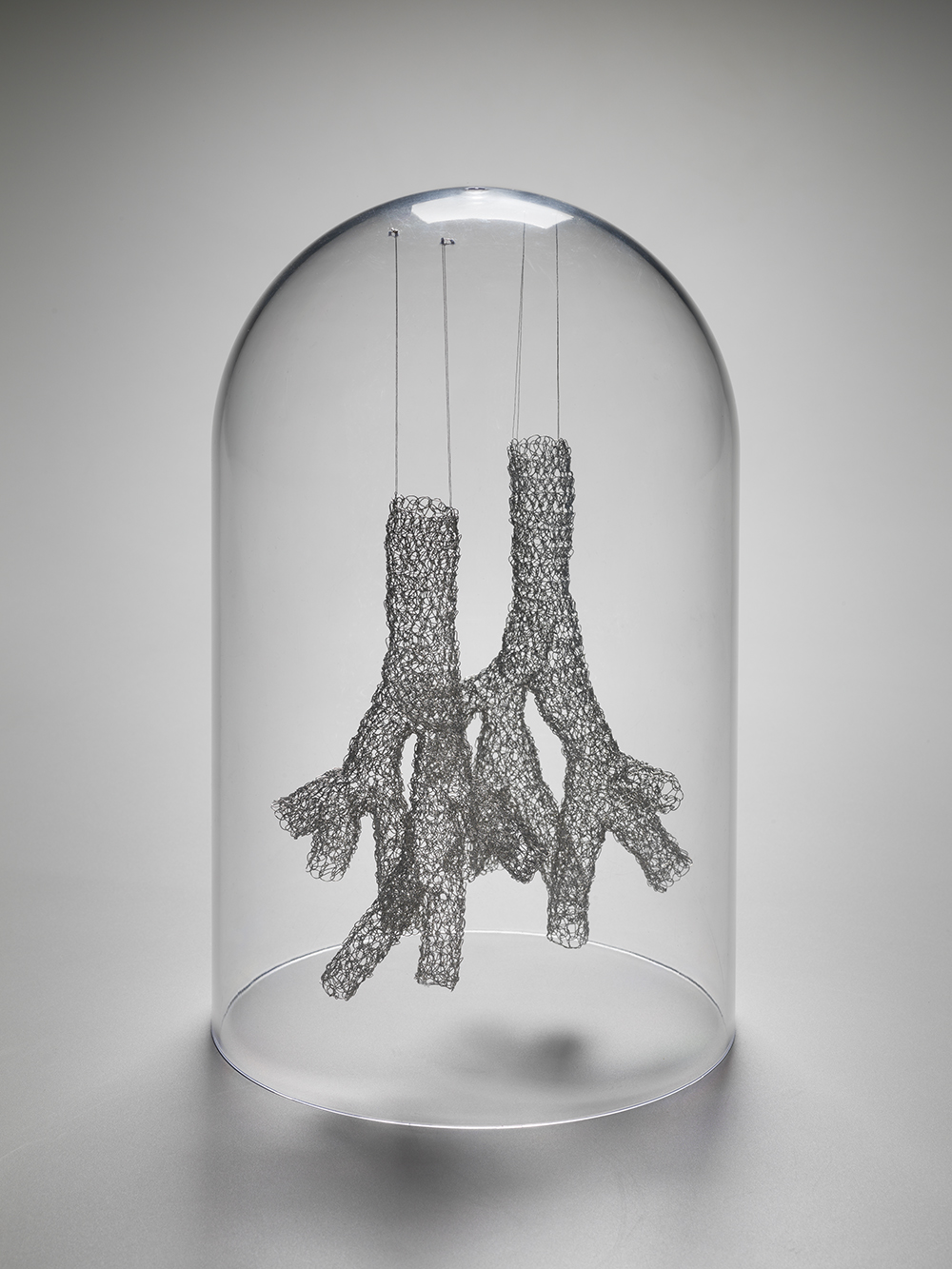 crocheted sculptures