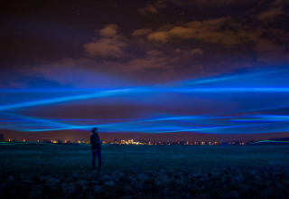 Climate Change Installation, by Studio Roosegaarde