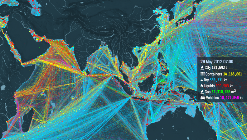Interactive Shipping Routes Map1