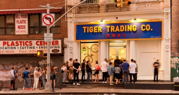 tiger beer pop up shop interactive