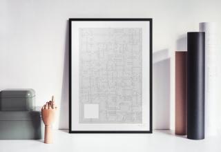 Maze Poster, by Stellavie