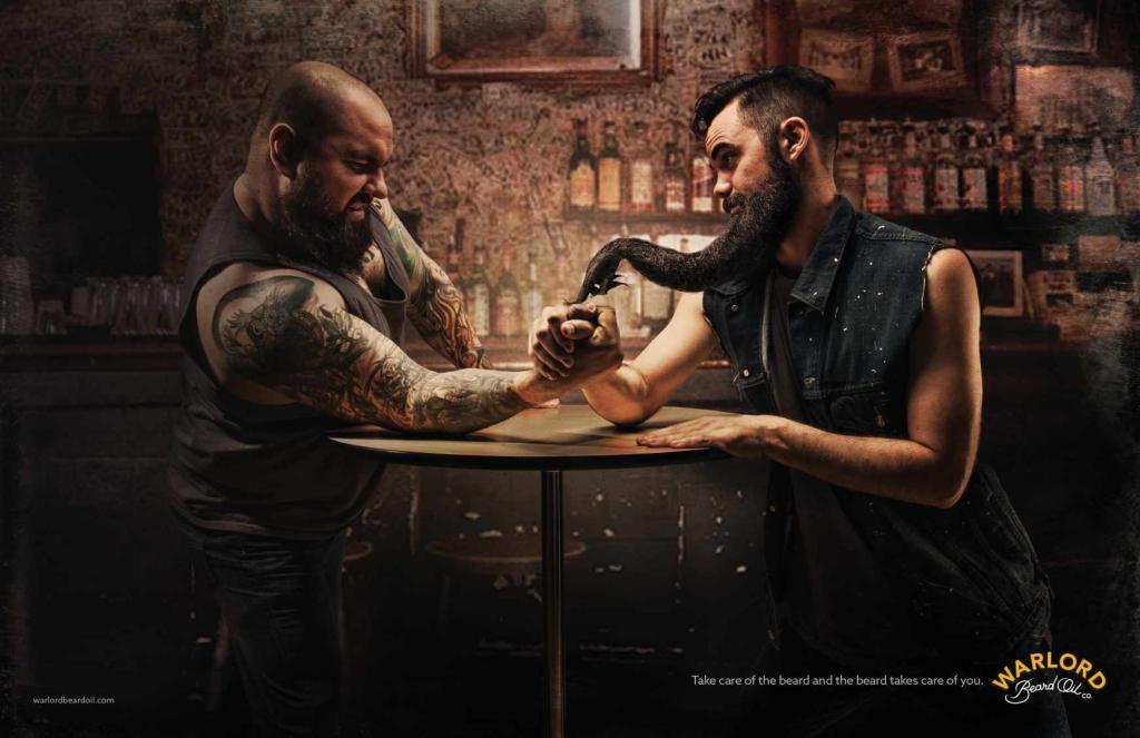 warlord beard oil brand
