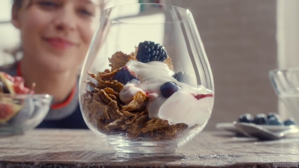 Kellogg's bran flakes ad