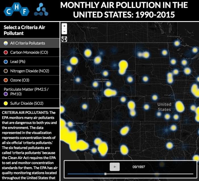 Air Pollution Data Visualization