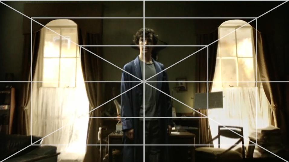 Sherlock Symmetric Cinematography