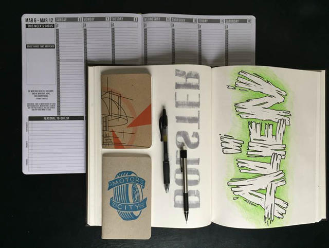 Designer's Notebooks: Terrance Weinzierl