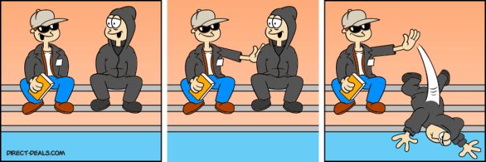 Mashup: Mr. Robot & Garfield